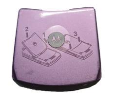 Original Battery Door Back Rear Fits Motorola Razr V3m CDMA VERIZON Pink... - $4.55
