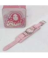 Fossil Pink Wristwatch leather band ladies watch gift boxed H26 - $47.77