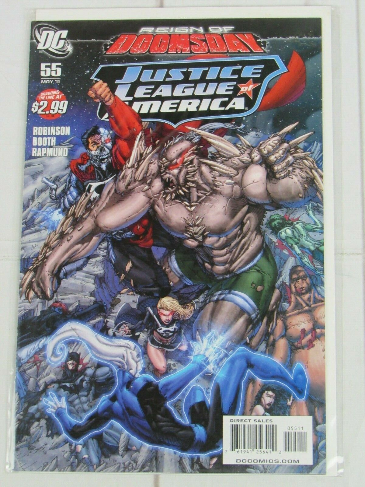 JUSTICE LEAGUE OF AMERICA # 55 (DC, 2011) Reign of Doomsday - C4978