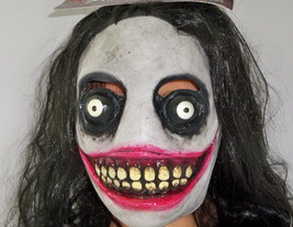 Adult Jeff the Killer Deluxe Halloween Mask - £35.31 GBP