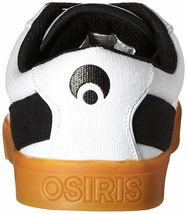 Osiris Mens White/Gum Canvas Lumin Lightweight Skateboarding Shoes Sneakers NIB image 5