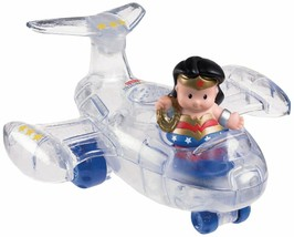 Fisher-Price Little People DC Super Friends Wonder Woman Invisible Jet - $44.04