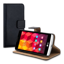 WALLET SYNTHETIC LEATHER CASE FOR LG LEON 3G 4G COVER BAG MOBILE PHONE M... - $16.80