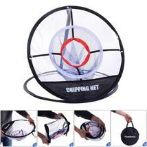 Golf Chipping Net 20 inch Portable Training Chipping Net Hitting Aid Pra... - $24.85