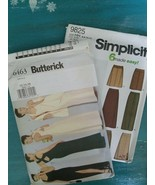 5 Sewing Patterns, 3 Uncut, 2  Carefully Cut. Lot of 5 - $8.59