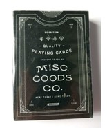 Misc Goods Company 3rd Edition Playing Cards 2012  - $12.19