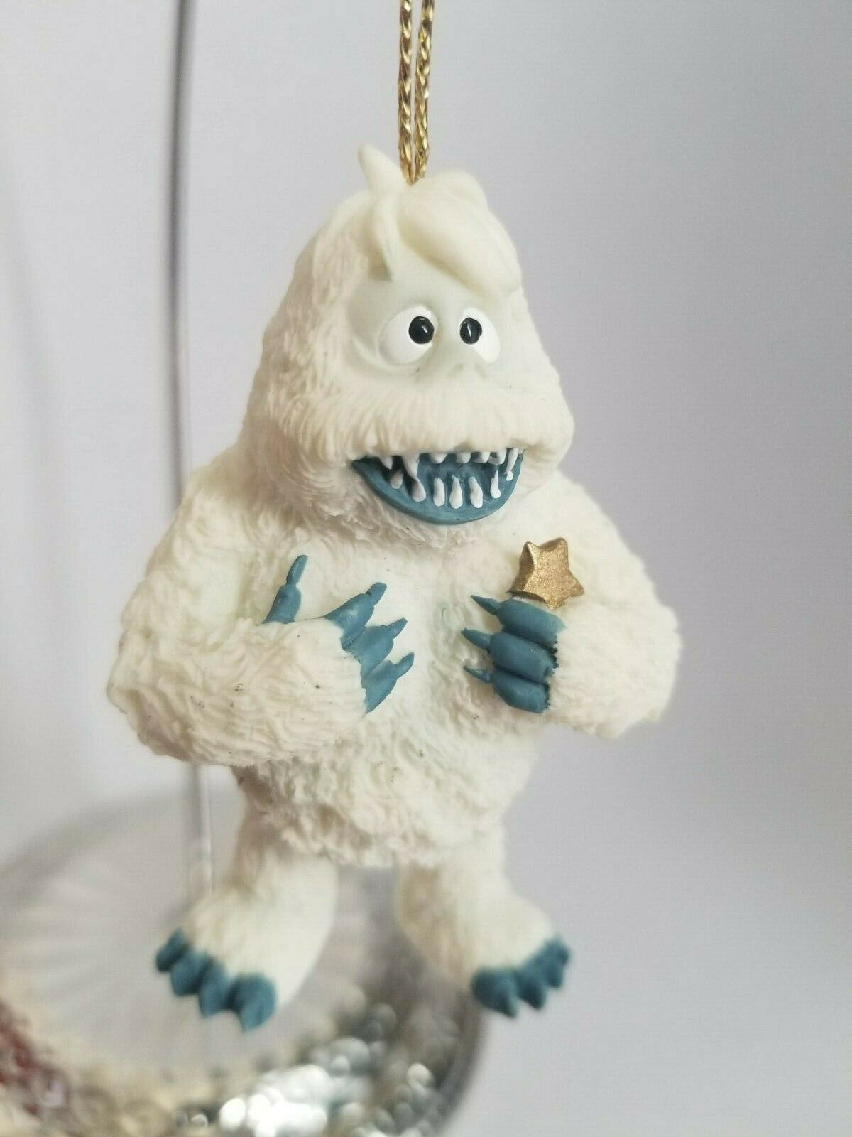 Primary image for YETI ABOMINABLE SNOWMAN ENESCO ORNAMENT 1999