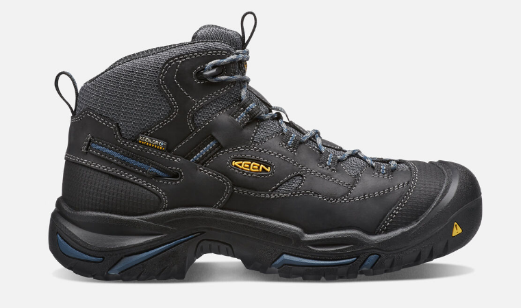 Keen Braddock Mid Size US 11.5 M (D) EU 45 Men's WP Soft Toe Work Shoes 1014605 image 3