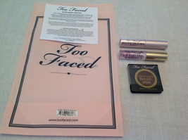 100% Authentic Too Faced Secret Beauty WEAPONS,3 Mini Of Lip,Mascara & Bronzer - $20.90