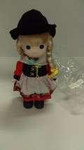 Precious Moments Children Of The World Gretchen Germany Porcelain Doll - $22.76