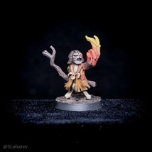 Pro Painted Miniature Shaman's Familiar Minion Puppet Marcus warden D&D DND - $29.09