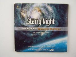 Imaginova Starry Night Orion Special Edition Win/Mac CD/DVD Software - $12.46