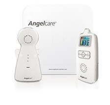 Angelcare Movement and Sound Monitor  AC115 / White/Gray / New / Free Ship - $37.40