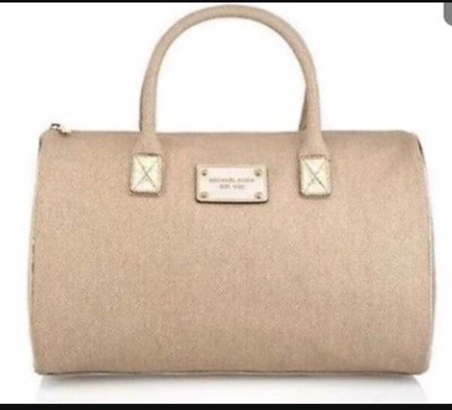 81993964bd3f Womens Michael Kors Parfums Weekender Canvas and 50 similar items