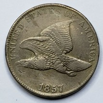 1857 Flying Eagle Head Cent Penny Coin Lot 519-104
