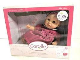 "Vintage Corolle Small Baby Calin Doll 12"" Made In France 2013 NEW IN BOX - $64.29"