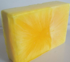 lemongrass sage soap, bath, beauty, glycerin soap, handmade soap, fruity... - $4.00