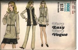 7781 Uncut Vintage Vogue-Schnittmuster Misses Rock Hose BLUSE Jacke Einf... - $9.89