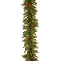 National Tree 9 Foot by 10 Inch Pine Cone Garland PC-9G-1 image 2
