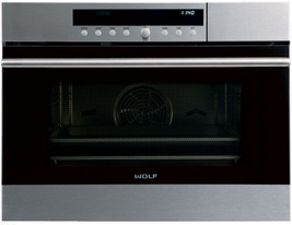 Wolf CSO24 24 Inch Convection Steam Oven  with 1.8 cu. ft. Capacity in S... - $2,672.95