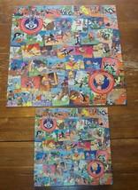 """Vintage WB Looney Tunes 500 Piece PUZZLE 20"""" X 20"""" - $39.60"""
