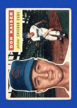 DON KAISER 1956 Topps #124A (VG-EX) Chicago Cubs Vintage Baseball Sports... - $3.99