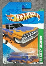 Hot Wheels • 2011 • Treasure Hunt • 15/15 •  '59 Chevy Delivery New in P... - $7.99