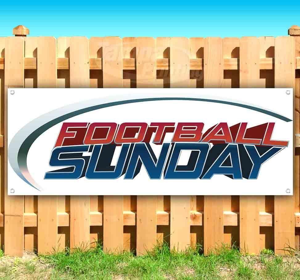 FOOTBALL SUNDAY Advertising Vinyl Banner Flag Sign Many Sizes NFL SPORTS
