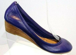 Jessica Simpson Hill Purple Round Toe Wedge Heel Womens size 6 Shoes - $41.29