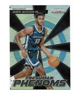 2018-19 Panini Prizm Silver Freshman Phenoms Jaren Jackson Rookie Card #22 - $9.90