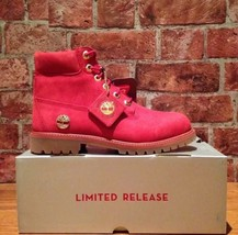 """TIMBERLAND A1KRD LIMITED RELEASE YOUTH 6"""" NUBUCK WATERPROOF Size: 6.5 - $99.00"""