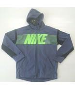 Nike Boys Therma Full Zip Hoodie - BV3780 - Purple 557 - Size L - NWT - $27.99