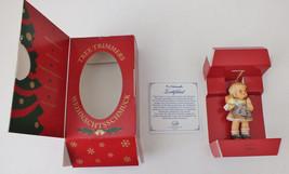 """1997 Berta Hummel Girl """"Surprise For You"""" Ornament Porcelain Goebel Figu... - $10.29"""