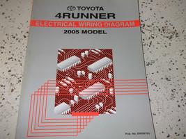2005 Toyota 4RUNNER 4 Runner Electrical Wiring Diagrams Service Shop Manual Oem - $49.49