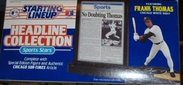 headline collection Frank Thomas 1993 Starting Lineup - $1.37