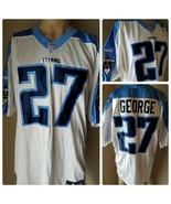 Tennesse Titans Eddie George Jersey # 27 Puma Authentic NFL Team Apparel - $278.99