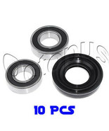 10Pcs Whirlpool Commercial Front Load Washer Bearing & Seal Kit AP3970398 - $139.99