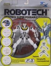 Robotech VF-1S Roy Fokker Veritech Super Poseable Action Figure by Toynami - $50.62