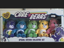 Care Bears Special Edition Collector Set Of 5. Exclusive Harmony Bear. NEW - $69.29