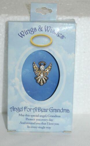 DM Merchandising Wings Wishes Dear Grandma Angel WGWGM