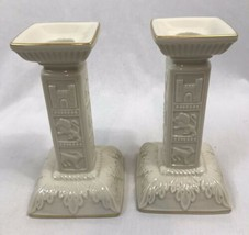 Lenox Judaic Collection 2 Piece Sabbath Collection Candle Holders - $56.99