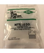 (1) NTE NTE1830 Integrated Circuit Dual Audio Power Amplifier, 5.8W (19W... - $12.99