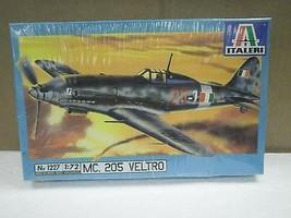 NEW MODEL- ITALERI MODEL KIT NO.1227- MC. 205 VELTRO- 1:72- NEW- W55 - $12.52