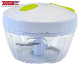 Southern Homewares 3 Blade Manual Handheld Food Chopper for Vegetable an... - $12.16