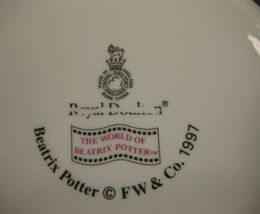 Royal Doulton Childs 2 Handled Cup & Bowl Beatrix Potter Jemima Puddleduck image 4