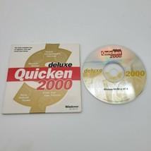 Intuit Quicken 2000 Deluxe For Windows 95 98 NT  - $19.75