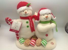 Hallmark Seasons Treatings Snowmen Yum Yum Sound Motion 2008 Nutcracker ... - $33.37