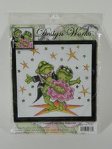 Design Works Dancing Frogs Cross Stitch Kit New - $19.97