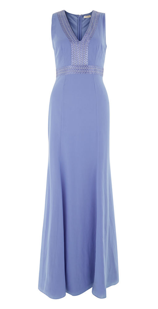 MONSOON Clarice Maxi Dress Size UK 16 BNWT