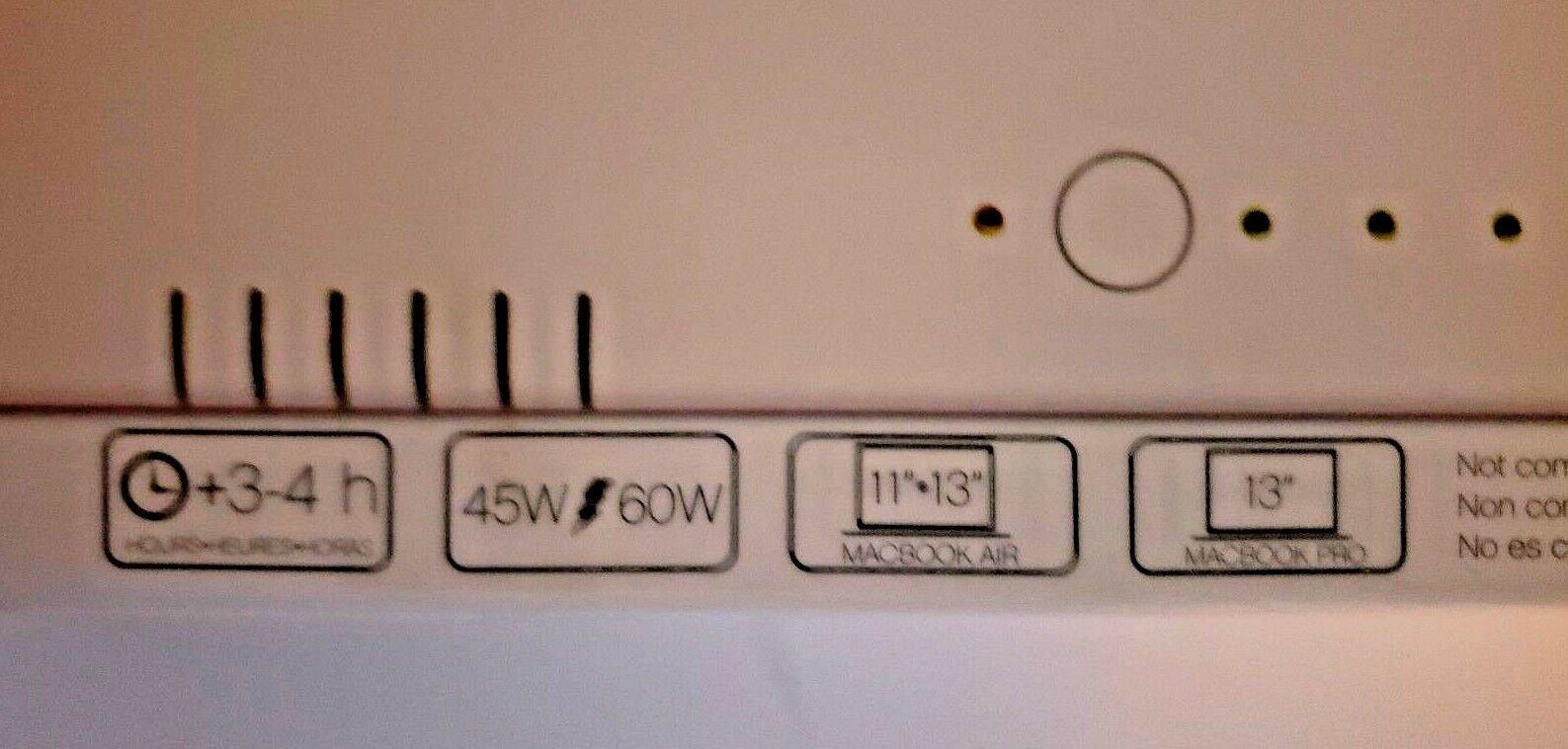 Lenmar Undead Power Chug Plug Apple Macbook Portable Power Charger PPWMB65 image 6